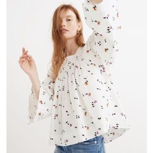NWT Madewell Floral Blouse